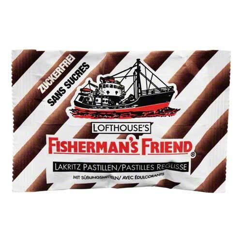 Fishermans Friend Lakritz ohne Zucker Pastillen - 1