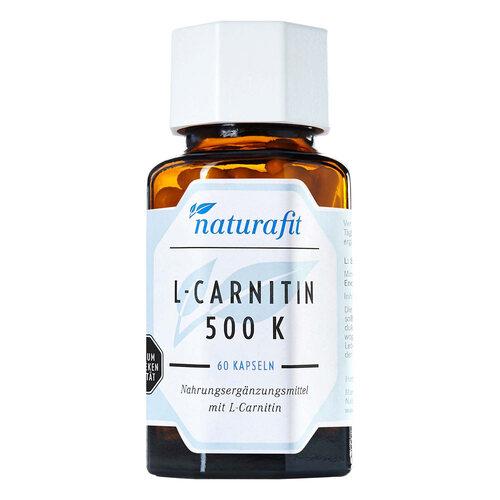Naturafit L-Carnitin 500 K Kapseln - 1