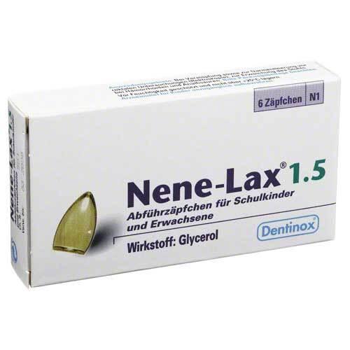 Nene Lax 1,5 Suppositorien für Schulk - 1
