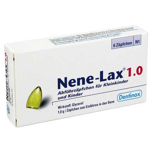 Nene Lax 1,0 Suppositorien für Kleink - 1