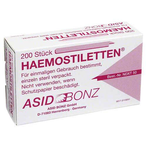 Haemostiletten - 1