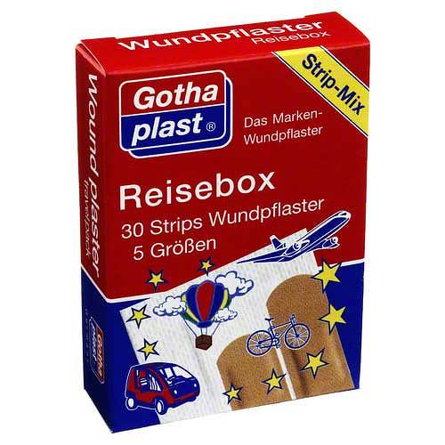 Gothaplast Wundpflaster Reisebox - 1