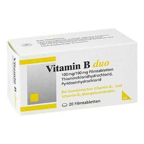 Vitamin B Duo Filmtabletten - 1
