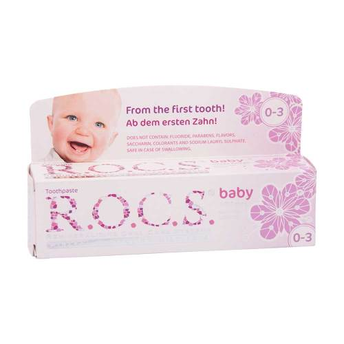 Rocs Baby Lindenaroma Zahnpasta - 1
