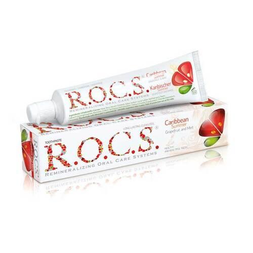 Rocs Erwachsene Grapefruit + Minze Zahnpasta - 1