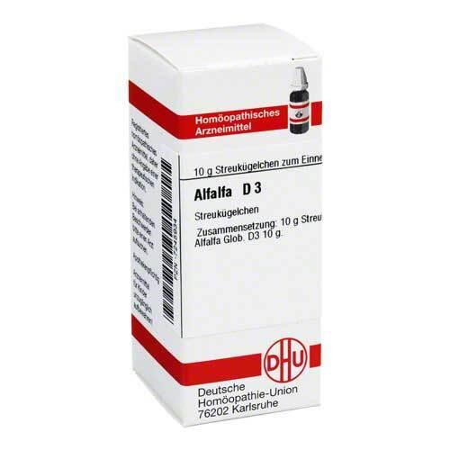 DHU Alfalfa D 3 Globuli - 1