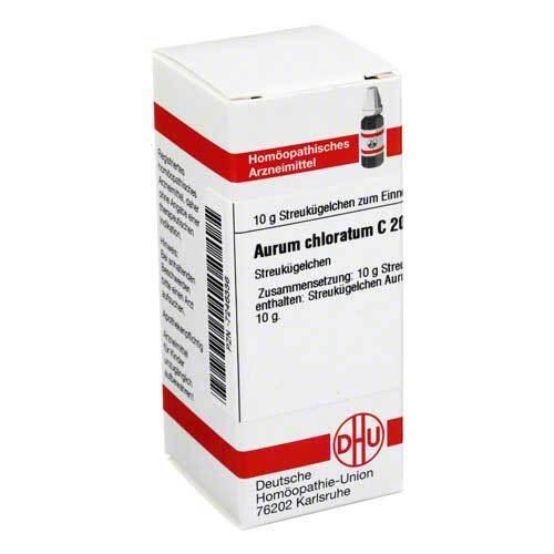 DHU Aurum chloratum C 200 Globuli - 1