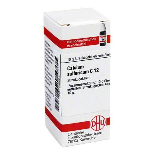 Calcium sulfuricum C 12 Globuli - 1