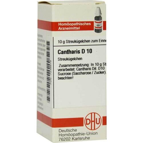 Cantharis D 10 Globuli - 1