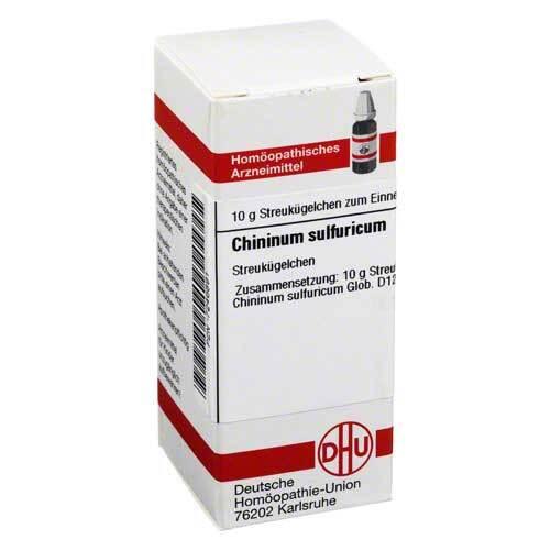 Chininum sulfuricum D 12 Globuli - 1