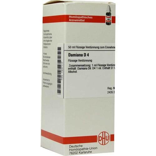 DHU Damiana D 4 Dilution - 1