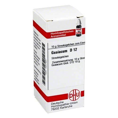 Guaiacum D 12 Globuli - 1