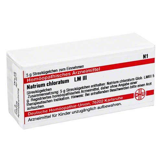 LM Natrium chloratum III Globuli - 1
