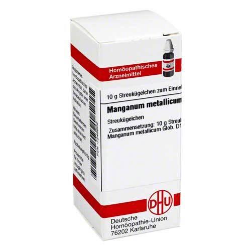 Manganum metallicum D 12 Globuli - 1