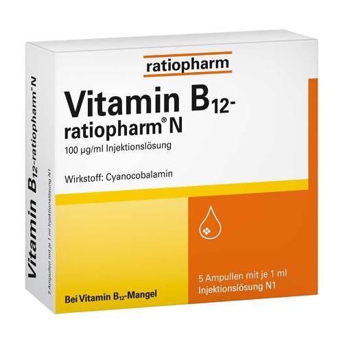 Vitamin B12 ratiopharm N Ampullen - 1