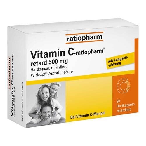 Vitamin C ratiopharm retard 500 mg Kapseln - 1