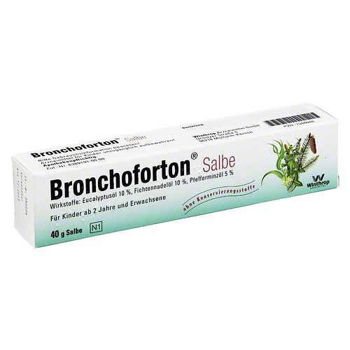 Bronchoforton Salbe - 1