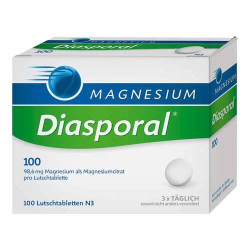 Magnesium Diasporal 100 Lutschtabletten - 1