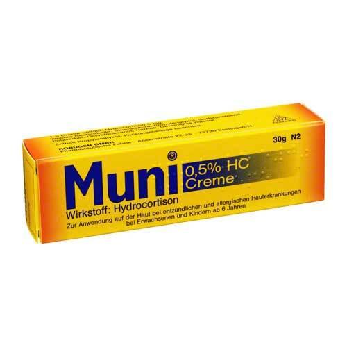 Muni 0,5% HC Creme - 1
