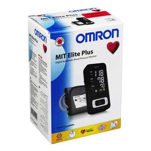 Omron Mit Elite Plus Oberarm Blutdruckm.mit PC SC - 1