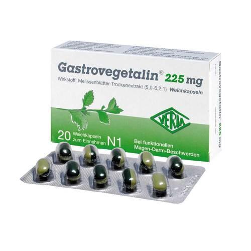 Gastrovegetalin 225 mg Weichkapseln - 1