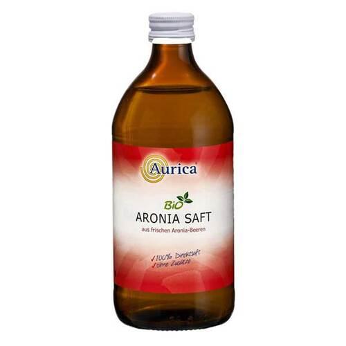Aronia 100% Direktsaft Bio - 1