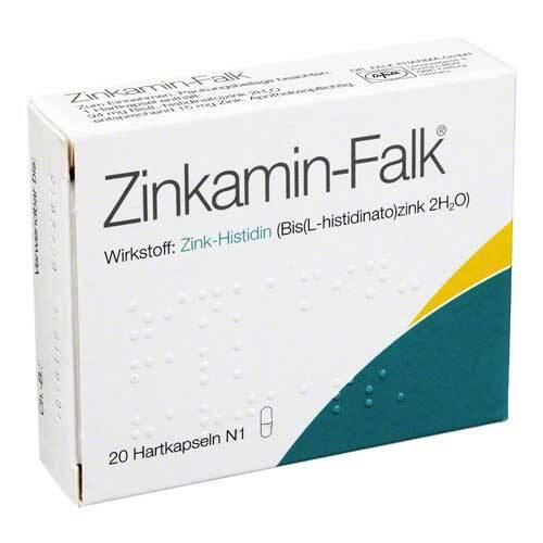 Zinkamin Falk Hartkapseln - 1