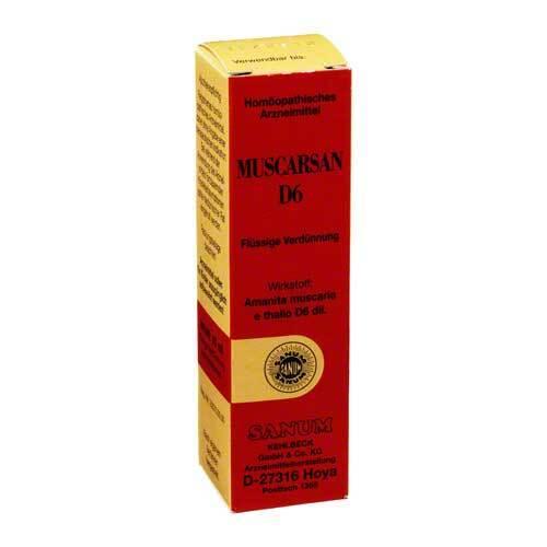 Muscarsan D 6 Tropfen - 1