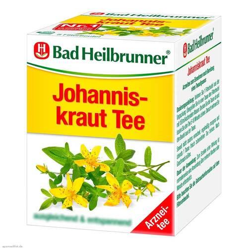 Bad Heilbrunner Tee Johanniskraut Filterbeutel - 1