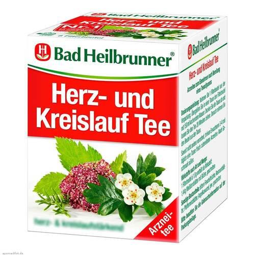 Bad Heilbrunner Tee Herz Kreislauf N Filterbeutel - 1