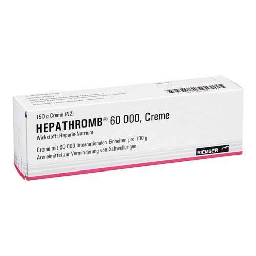 Hepathromb Creme 60.000 I.E. - 1