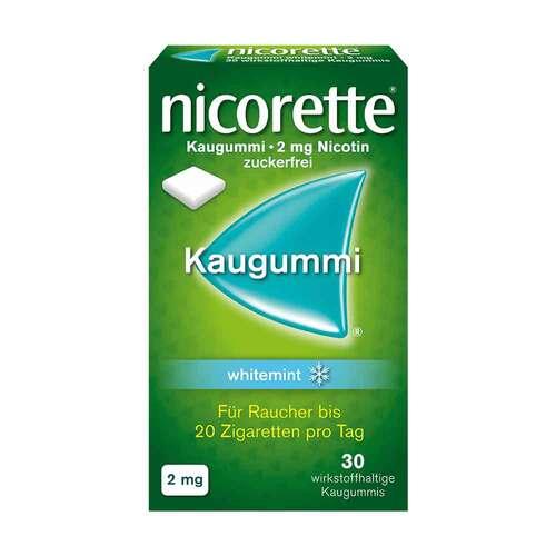 Nicorette Kaugummi 2 mg whitemint - 1