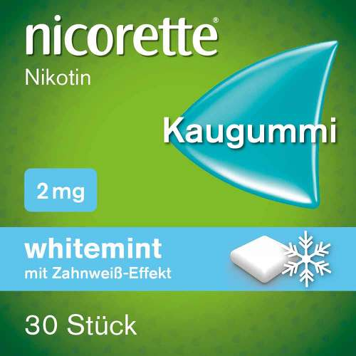 nicorette Kaugummi whitemint, 2 mg Nikotin - 2