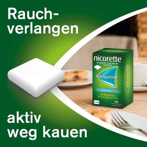 nicorette Kaugummi whitemint, 2 mg Nikotin - 3