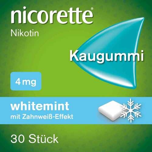 nicorette Kaugummi whitemint, 4 mg Nikotin - 2