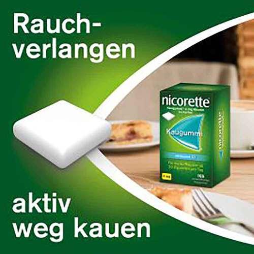 nicorette Kaugummi whitemint, 4 mg Nikotin - 3