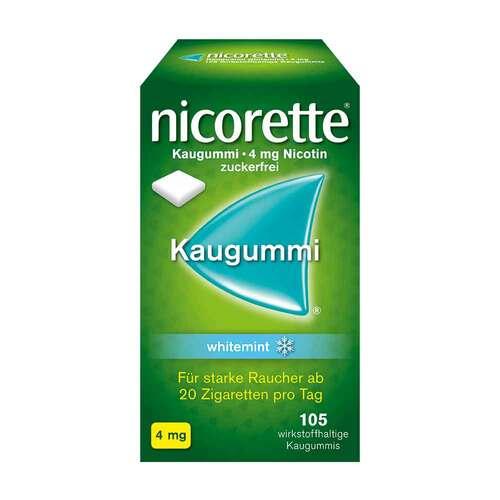 Nicorette Kaugummi 4 mg whitemint - 1
