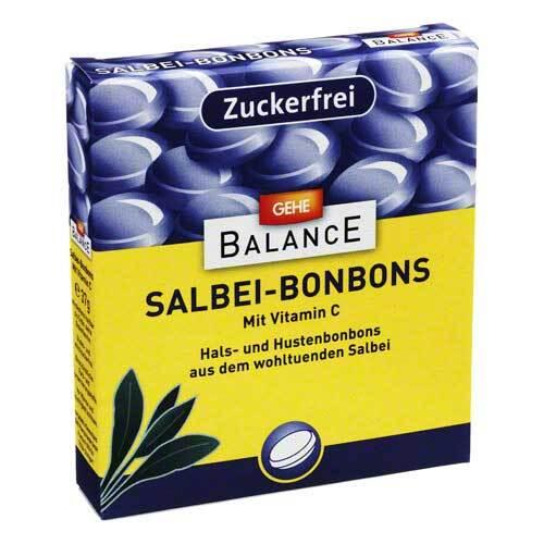 Gehe Balance Salbeibonbons zuckerfrei - 1