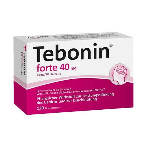 Tebonin forte 40 mg Filmtabletten - 1