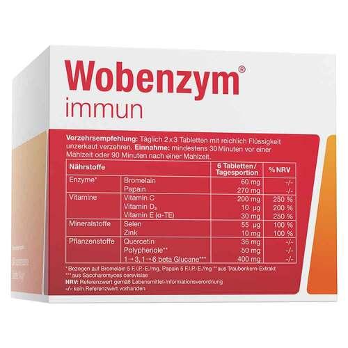 Wobenzym immun Tabletten - 4