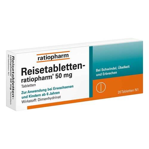 Reisetabletten ratiopharm - 1