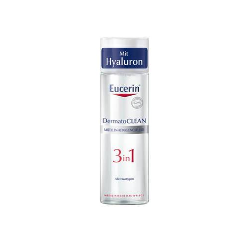 Eucerin DermatoClean 3in1 Reinigungsfluid mit Mizellen-Technologie - 1