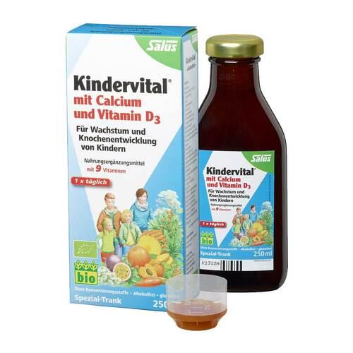 Kindervital Bio mit Calcium + D3 Tonikum Salus - 1