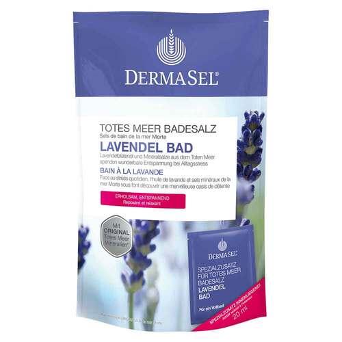 Dermasel Spa Totes Meer Badesalz Lavendel Bad - 1