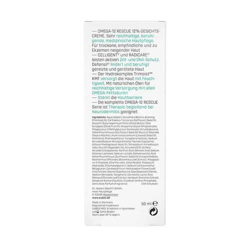 Eubos Omega-12 Rescue 12 % Omega Gesichtscreme - 4