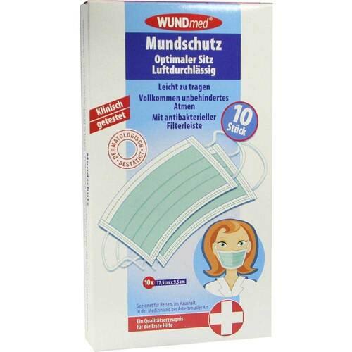 Mundschutz mit antibakterieller Filterleiste - 1