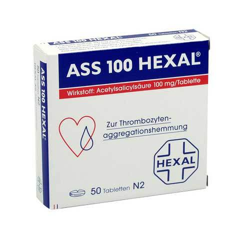 ASS 100 Hexal Tabletten - 1