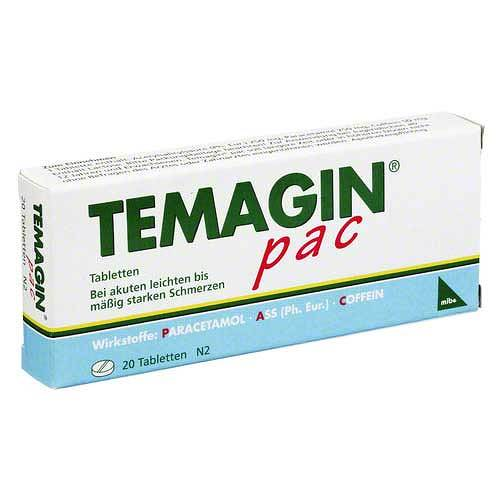 Temagin Pac Tabletten - 1