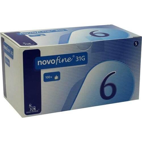 Novofine 6 Kanülen 0,25x6 mm - 1