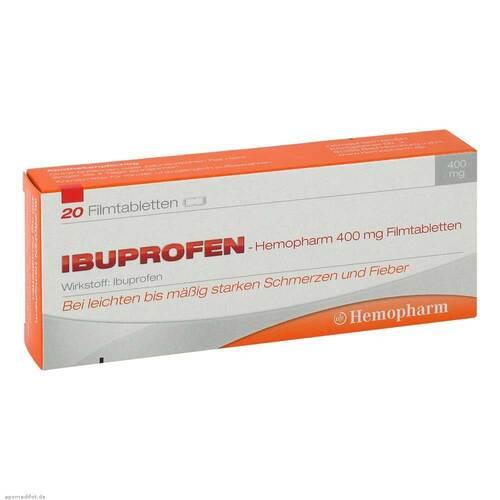 Ibuprofen Hemopharm 400 mg Filmtabletten - 1